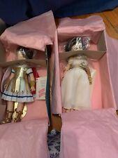 """VTg Madame Alexander Cleopatra & Marc Anthony 12"""" #1310/1315JR"""