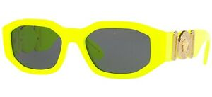 Versace THE CLANS VE 4361 Yellow/Grey (5321/87) Sunglasses