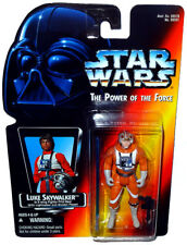 Star Wars Luke Skywalker X-Wing Action Figure MOC Long Saber Power of the Force