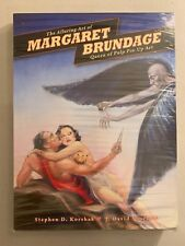 THE ALLURING ART OF MARGARET BRUNDAGE QUEEN OF PULP PIN UP HC WITH SLIPCASE MC