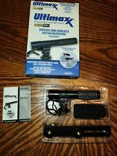 Ultimaxx Um-Mic100 Mini Condenser Shotgun Microphone for Dslr or Mirrorless Cams