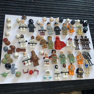 Lego Star Wars Mini Figure Spares Bundle
