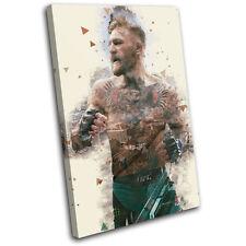 Conor McGregor Dublin UFC MMA Sports SINGLE TOILE murale ART Photo Print