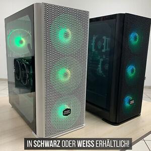 20 Kerne Turbo 3,3GHz - 32GB - 500GB - RGB Gaming Workstation Basis PC - Schwarz