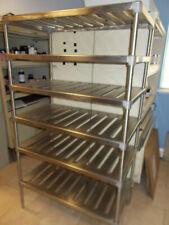 36 x 20 x 64 Heavy Duty Stainless Steel Shelf Rack Commercial Shelving 6 Tier