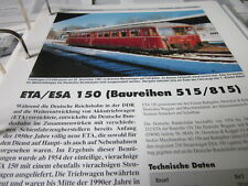 Neben - Schmalspurbahnen 15 ETA / ESA 150 (Baureihen 515/815) 2S