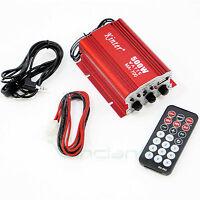 Mini amplificatore stereo Hi-Fi 2 CANALI per auto automobile Kinter 500W MA-700