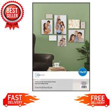 """11"""" x 17"""" Format Picture Frame Wall Hanging Home Decor Poster Display, Black NEW"""