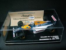 1:43 Minichamps/universalità Williams FW15C RENAULT PROST GP Tedesco 1993 F1 337.013.3