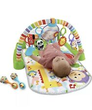 New listing New Fisher-Price Deluxe Kick 'n Play Piano Gym, Green