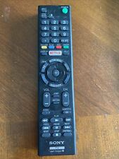 OEM Remote - Sony RMT-TX100U for Select Sony TVs - Black