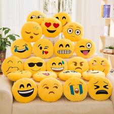 Cuscino peluche decorativo emoji emoticon 30 cm faccia faccina risata in 19 tipi