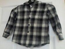 Rebel primark boy's hooded shirt aged 3 / 4 yrs