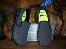FADED GLORY MENS CASUAL MEMORY FOAM SLIPPERS SIZE 7.5 COLOR GRAY MENS COMFORT
