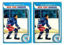1X PHIL ESPOSITO 1979-80 OPC #220 GD O Pee Chee NY Rangers Bulk Lot Available