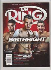 THE RING MAGAZINE VICTOR ORTIZ-ROBERT GUERRERO-LEO SANTA CRUZ COVER MAY 2013