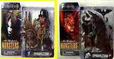 McFarlane Monsters 2002 Bloody Voodoo Queen & Dracula Action Figure Set of 2  .