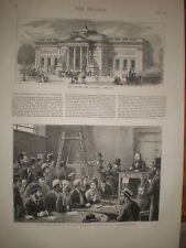 Walker Art Gallery Liverpool 1874 print and article