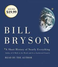 A Short History of Nearly Everything by Bill Bryson (2017, CD, Abridged)