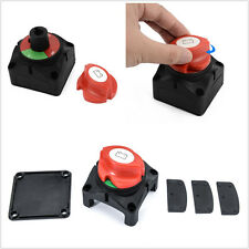 600A Car RV Marine Boat Battery Selector Isolator Disconnect Rotary Switch Tool