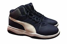 PUMA REBOUND STREET EVO FUR MEN'S BASKETBALL / WALKING SHOES 362895 01 SIZE 10.5