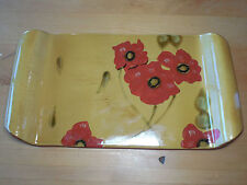 Ambiance FLEUR ROUGE Handled Cheese Board 16 1/2 1 ea Red Gold