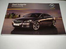 Bedienungsanleitung Opel Insignia, Ausgabe 01/2011 (neu) #bai0111