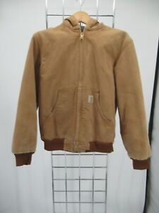 K7553 Carhartt Boy's Full-Zip Work  Jacket Size L 10/12