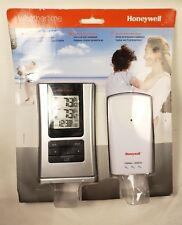 NEW Honeywell TE109NL Personal Weather Station with Sensor - Clock + Temperature