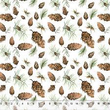 Pinecones Allover - Home Decor Fabric Polyester 62