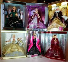 Happy Holidays Special Edition Celebrate Millennium &Other Barbies Lot 0f 20 Nib
