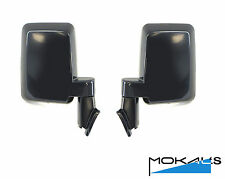 Toyota LandCruiser 70/75/78 Series ute door mirrors manual black left & right