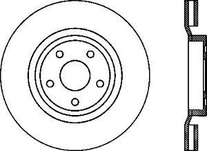 StopTech For 06-10 Jeep Grand Cherokee Sport Disc Brake Front Left - 127.58003L