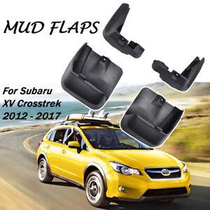 Set Mudguards For Subaru XV Crosstrek 2013-2017 Mud Flaps Splash Guards Mudflaps