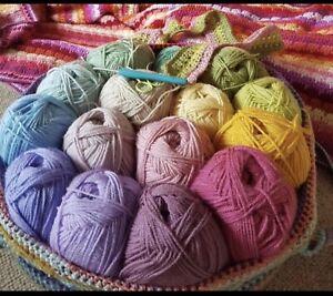 15 x 100g Stylecraft Special D/K Wool/Yarn Knitting/Crochet MEADOW CAL  Attic 24