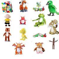Gruffalo Child, Room on the Broom, Cat, Dragon, Zog, Bird, Frog, Mouse, Fox Toys