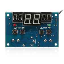 DC24V LED Display Digital Thermostat Controller Micro Temperature Control Switch