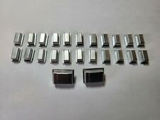 RARE Roland TB 303 TR 606 TT 303 Brand New Metal Coated Replacement Switch Caps