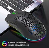 Wireless Gaming Mouse USB Optical Mice For Laptop Desktop PC Rechargeable 2.4GHz