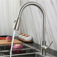 Pull out Kitchen Faucet Single Level Kitchen Sink Faucets with Pull down Sprayer