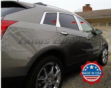 2010-2016 Cadillac SRX Chrome 6Pc Pillar Post Stainless Steel Trim