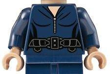 LEGO MARIA HILL TORSO DARK BLUE SUPER HEROES FEMALE MINFIGURE AUTHENTIC 76042