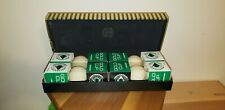 Dunlop Super Maxfli Vintage Green Golf Ball Gift Set. Buffalo NY Made. NIB. Rare