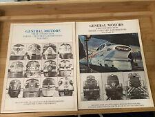 General Motors First Generation Diesel- Electric Locomotives Volume I & II