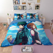 3D Japan Anime My Hero Academia Duvet Cover Bedding Set Quilt Cover Pillowcases
