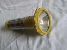 ALTE PERTRIX TASCHENLAMPE Nr.504 METALL UND KUNSTSTOFF LAMPE TOP
