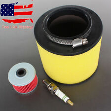 Tune Up Kit Air Oil Filter F Honda TRX300EX TRX 300EX X Sportrax 93+ Spark Plug