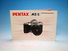 Pentax MZ-5 Bedienungsanleitung instruction manual - (100996)