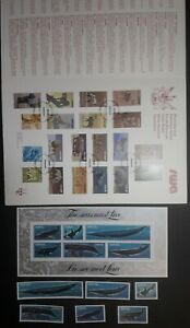 SOUTH WEST AFRICA MINT STAMPS MINI SHEET AND PRESENTATION PACK. WHALES/WILDLIFE