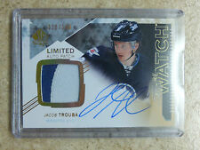 13-14 SPA SP Authentic FW Future Watch Limited Rookie Patch JACOB TROUBA /100